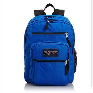 JanSport Big Student Classic Backpack Blue Streak